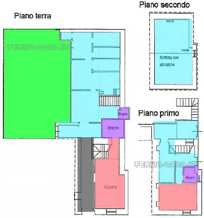 For sale Detached house Fermo Capodarco #Cpd010 n.2