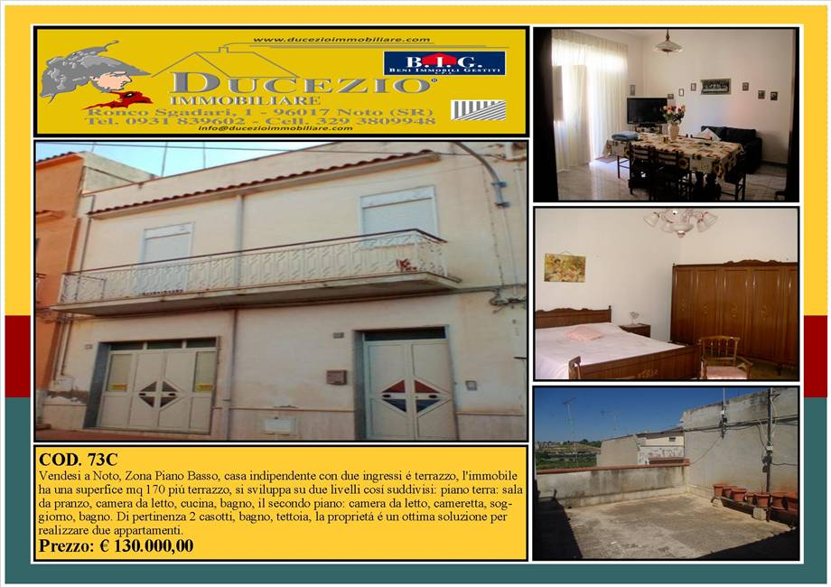 For sale Detached house Noto  #73C n.1