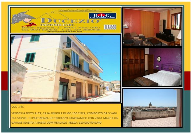 For sale Detached house Noto  #74C n.1