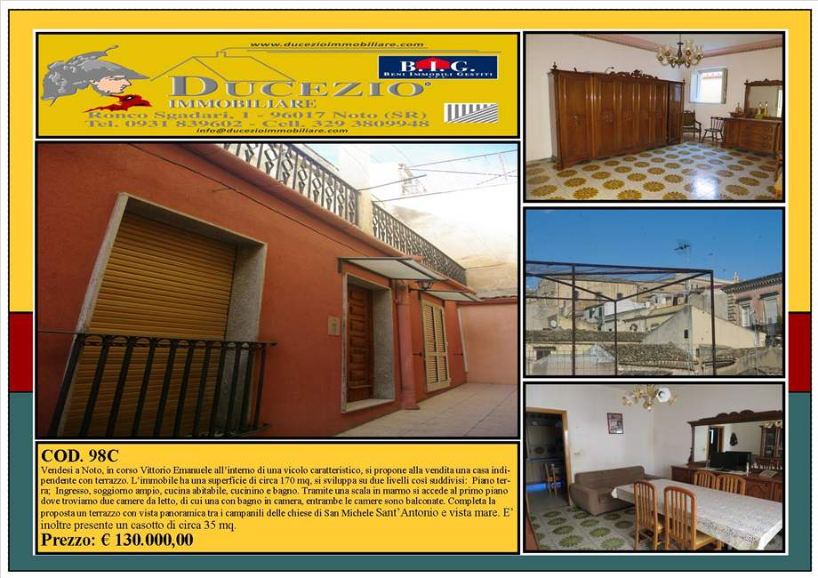 For sale Detached house Noto  #98C n.1