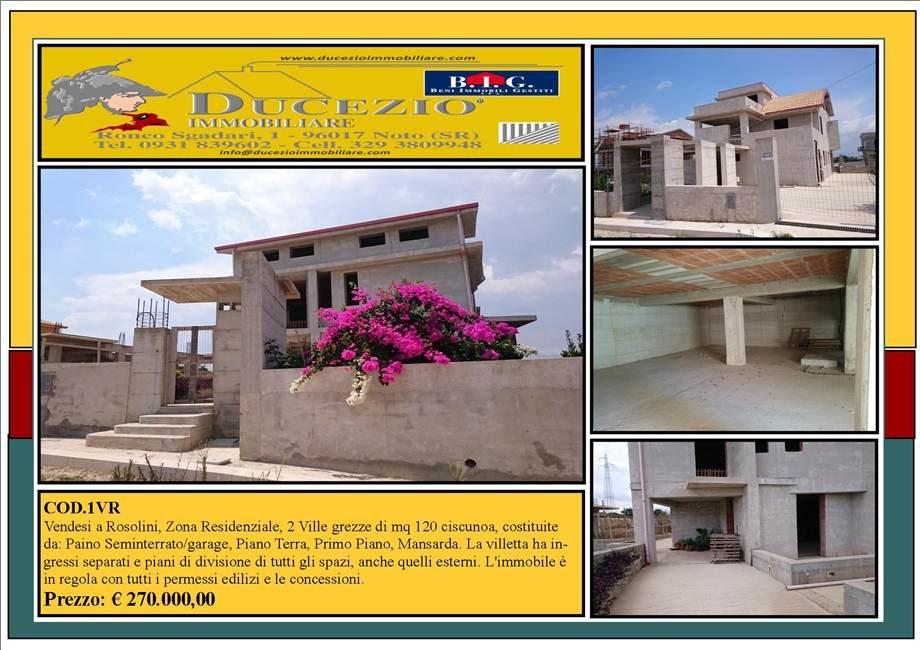 Villa/Casa independiente Rosolini #1VR