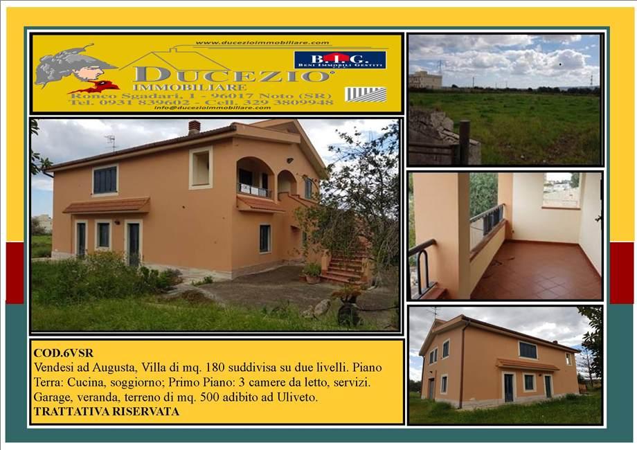 Villa/Casa singola Augusta #6VSR