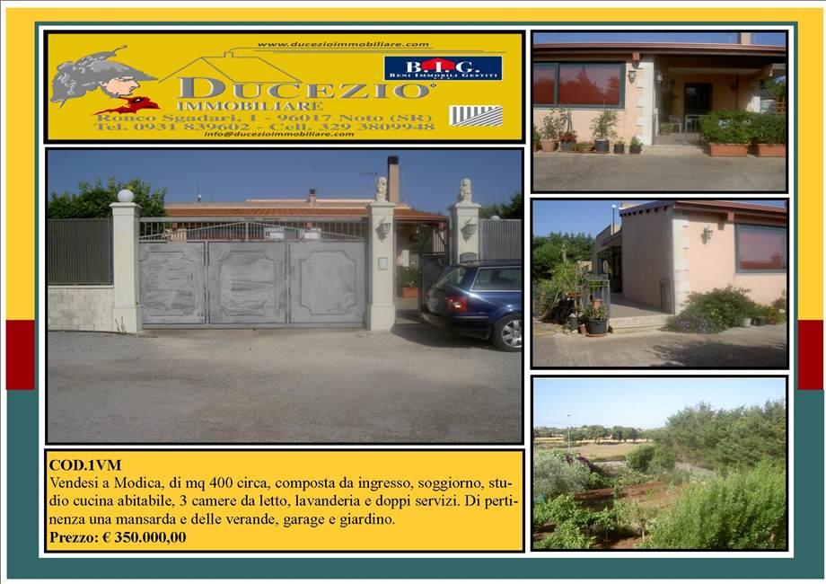 Villa/Casa singola Modica #1VM