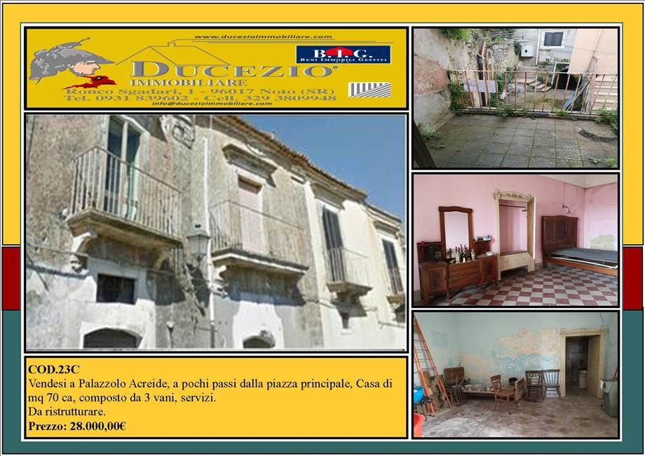 Appartamento Palazzolo Acreide #23C