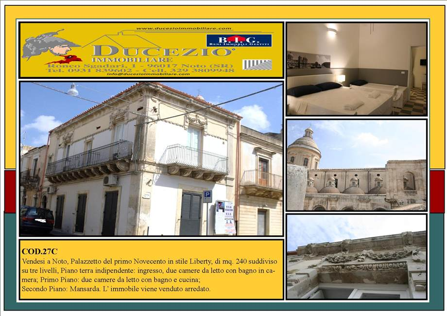 Villa/Casa singola Noto #27C