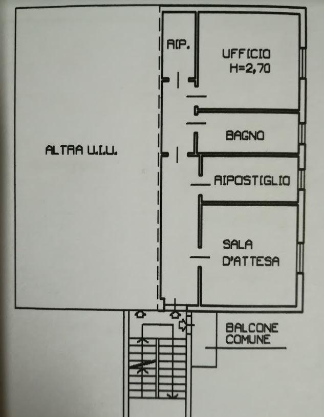 Vendita Ufficio Stradella  #UStr590 n.1+1