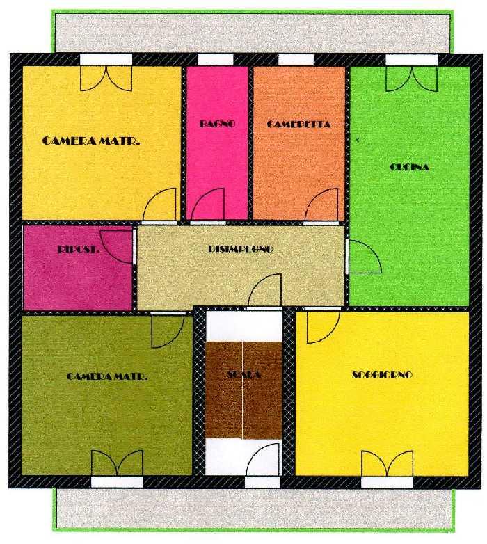 For sale Building Villabate C.Colombo-CVE-Roma #A059 n.10