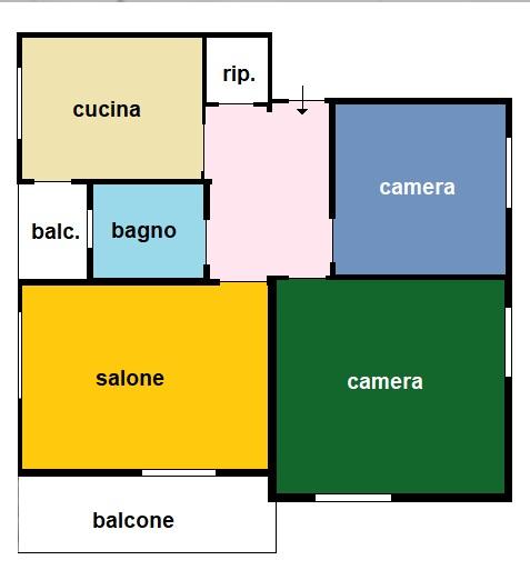For sale Flat Sanremo Corso degli Inglesi #3125 n.8
