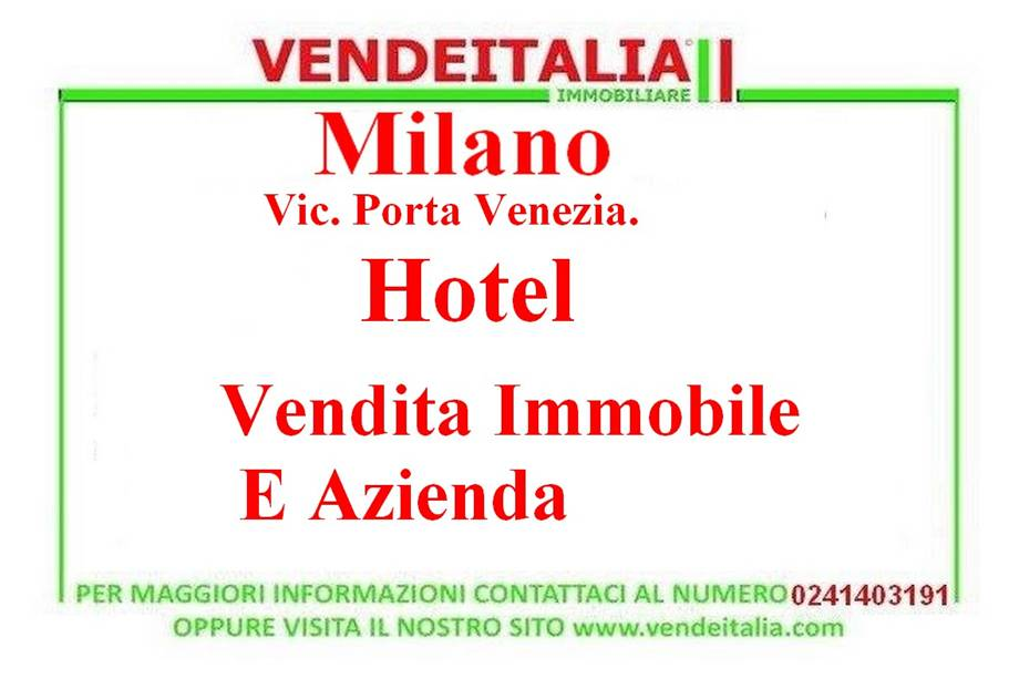 For sale Hotel/Apartment hotel Milano  #471 n.1