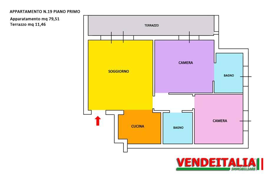 For sale Flat Fino Mornasco  #521 n.5
