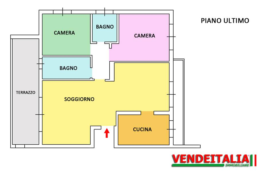 For sale Flat Fino Mornasco  #523 n.6