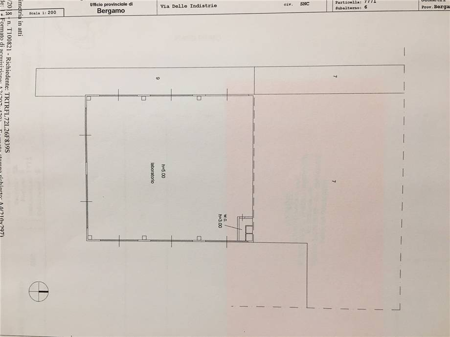 To rent Industrial/Warehouse Castelli Calepio TAGLIUNO #CC293 n.2