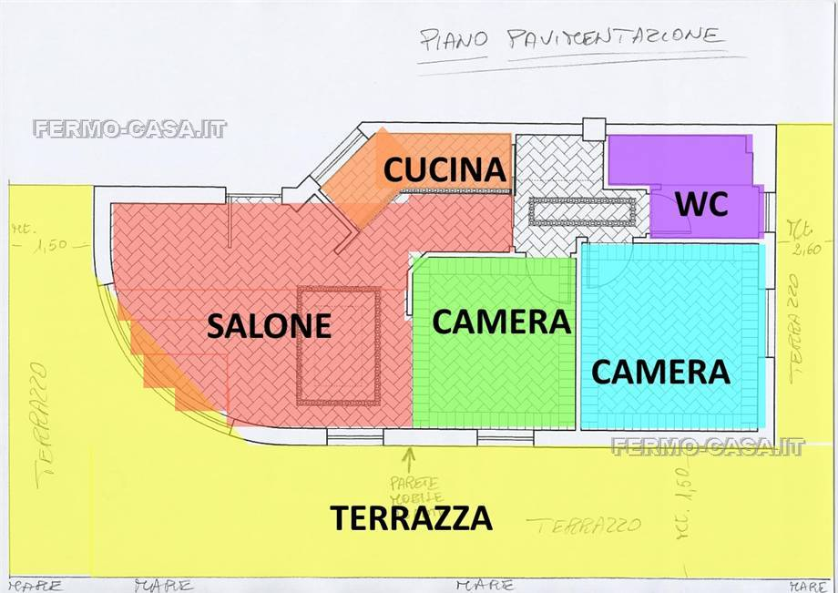 For sale Flat Porto Sant'Elpidio  #Pse029 n.6