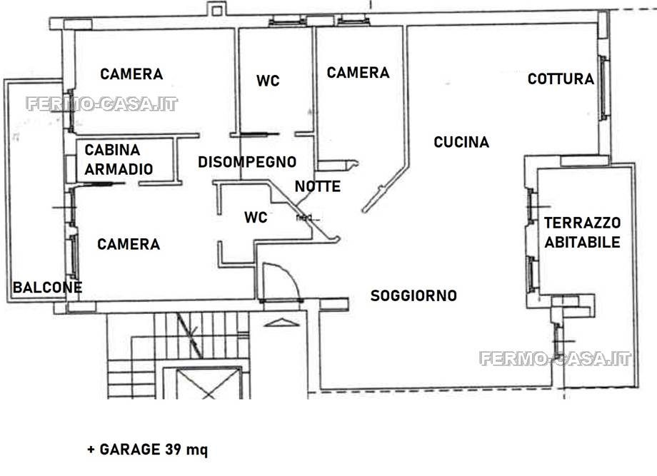 For sale Flat Porto San Giorgio  #Slv004 n.15