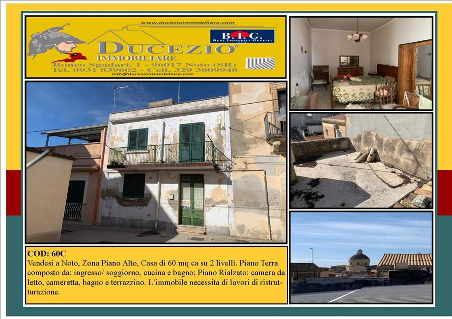 For sale Detached house Noto  #60C n.1