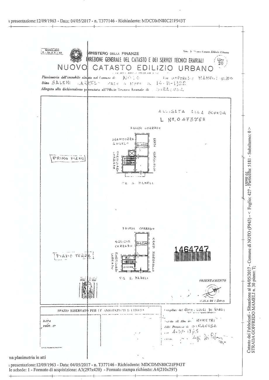 Venta Villa/Casa independiente Noto  #60C n.8