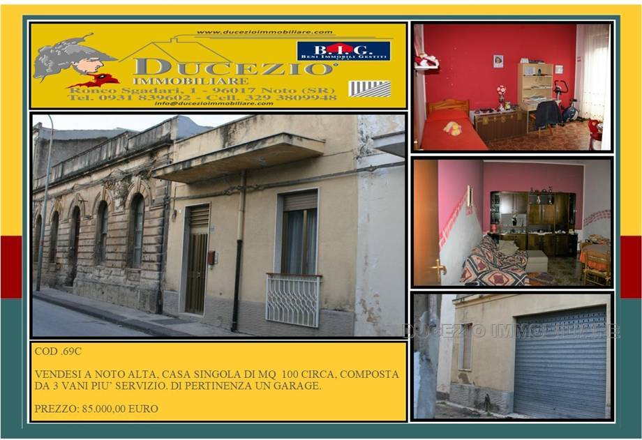 Villa/Casa singola Noto #69C