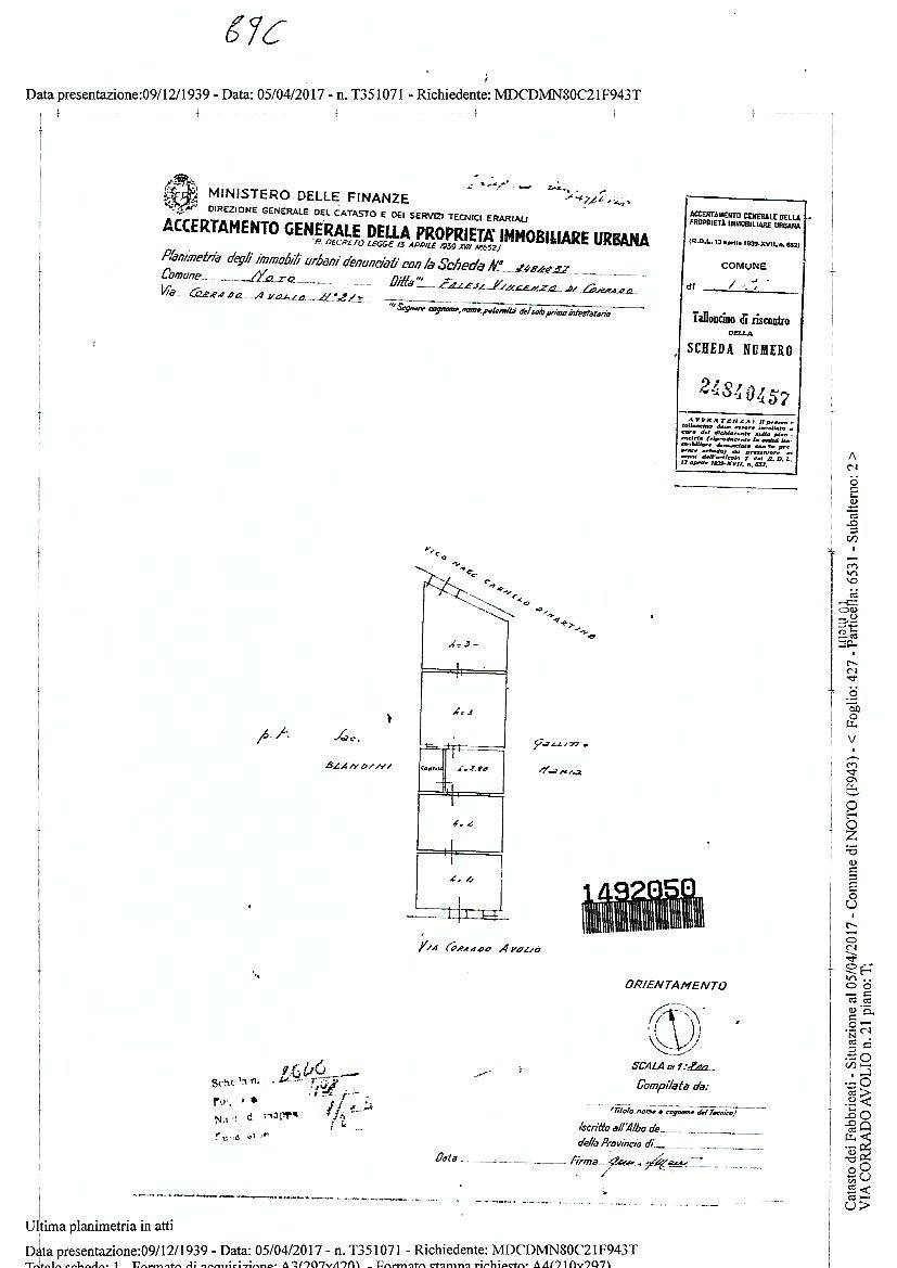 Vendita Villa/Casa singola Noto  #69C n.12