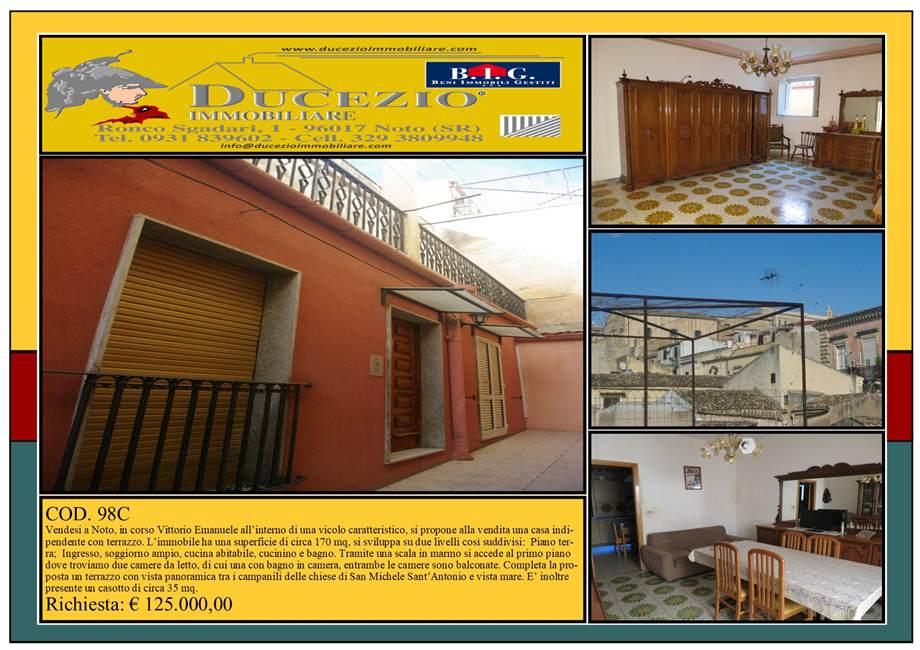 Villa/Casa singola Noto #98C
