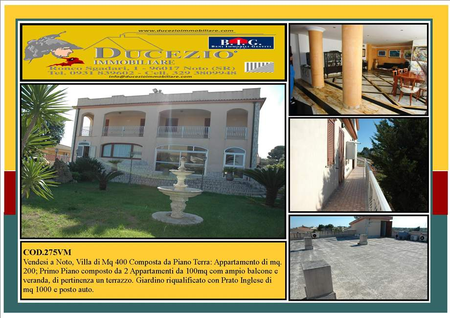 For sale Detached house Noto  #275VM n.1