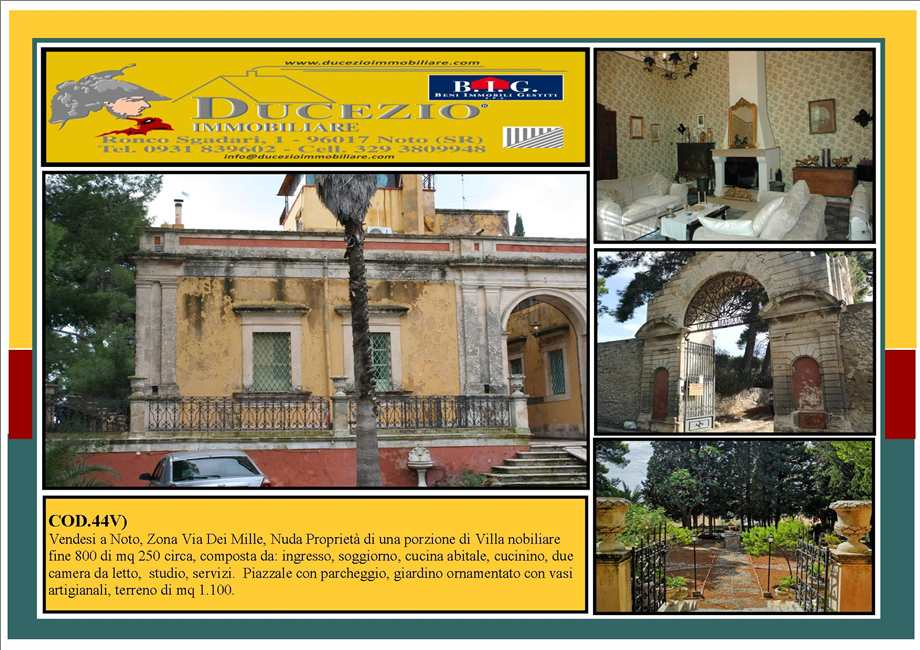 Villa/Casa independiente Noto #44V