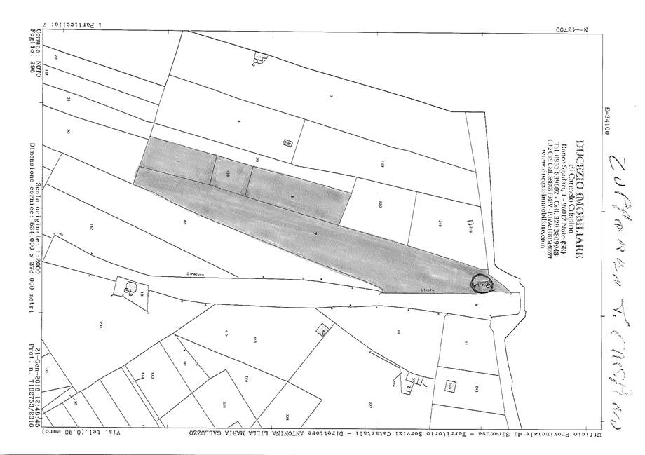 For sale Land Noto  #107T n.8