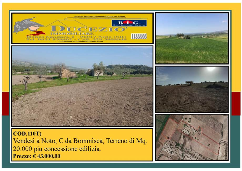 For sale Land Noto  #110T n.1