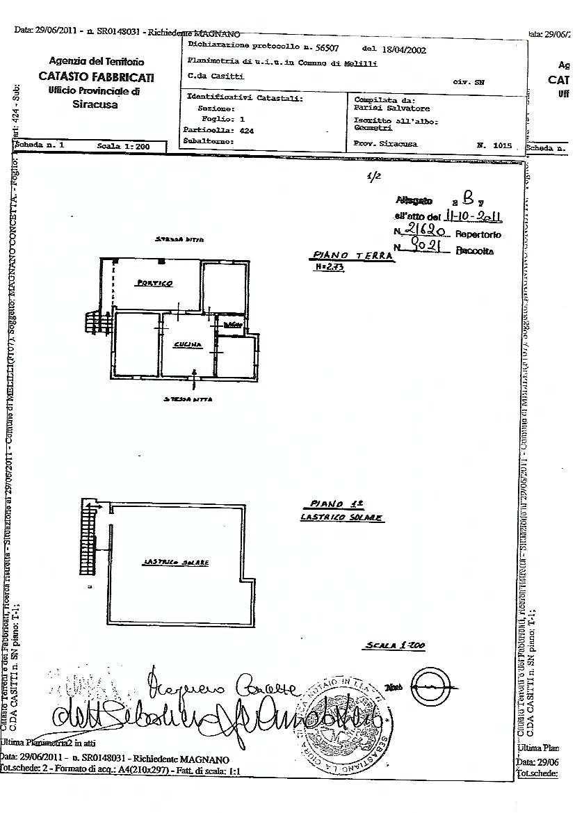 Verkauf Grundstück Melilli  #36TM n.14