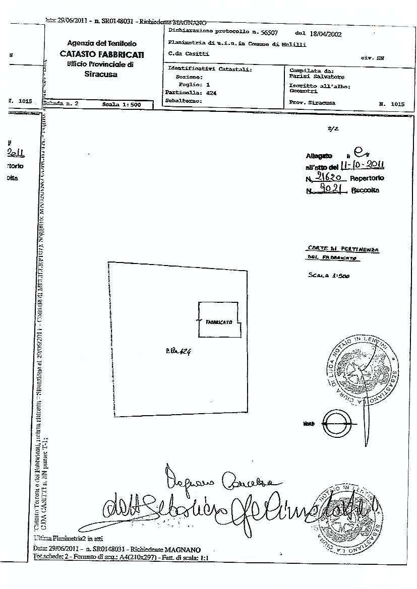 For sale Land Melilli  #36TM n.15