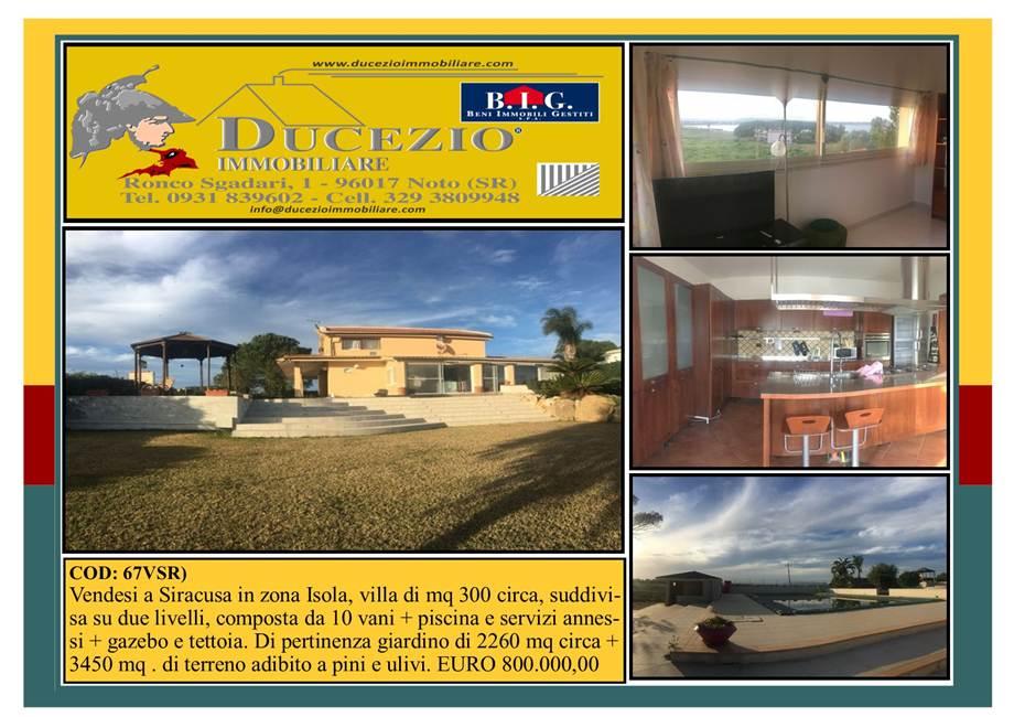 Villa/Einzelhaus Siracusa #67VSR