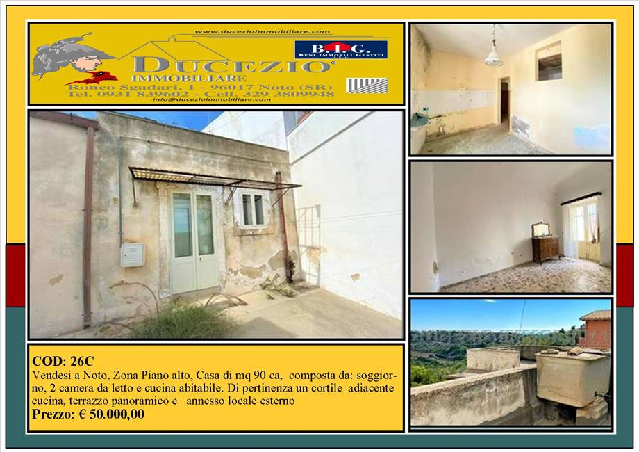 For sale Detached house Noto  #26C n.1