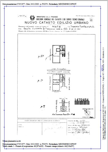 For sale Flat Noto  #9A n.15