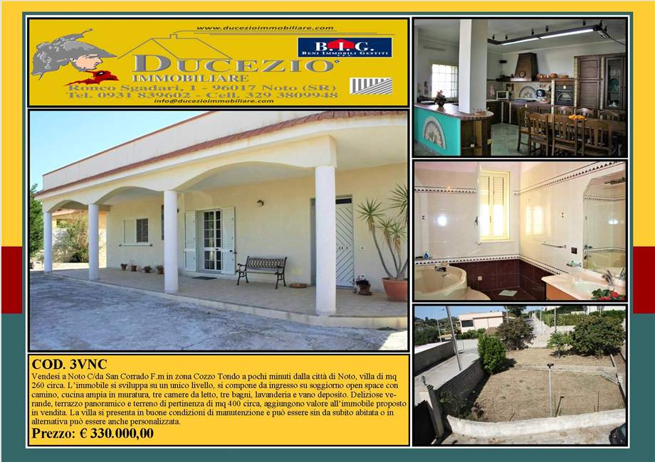 Villa/Casa independiente Noto #3VNC