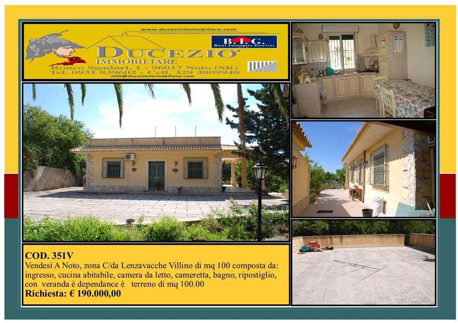 Villa/Casa singola Noto #351