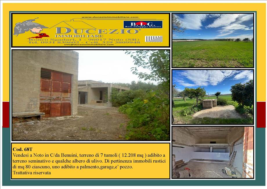 For sale Land Pachino  #68T n.1
