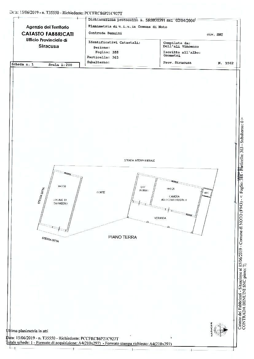 Verkauf Grundstück Noto  #sr5 n.14