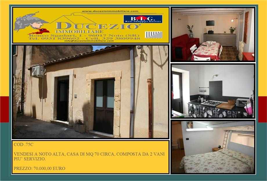 Villa/Casa singola Noto #75C