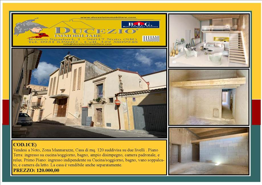 Two-family house Noto #1CE