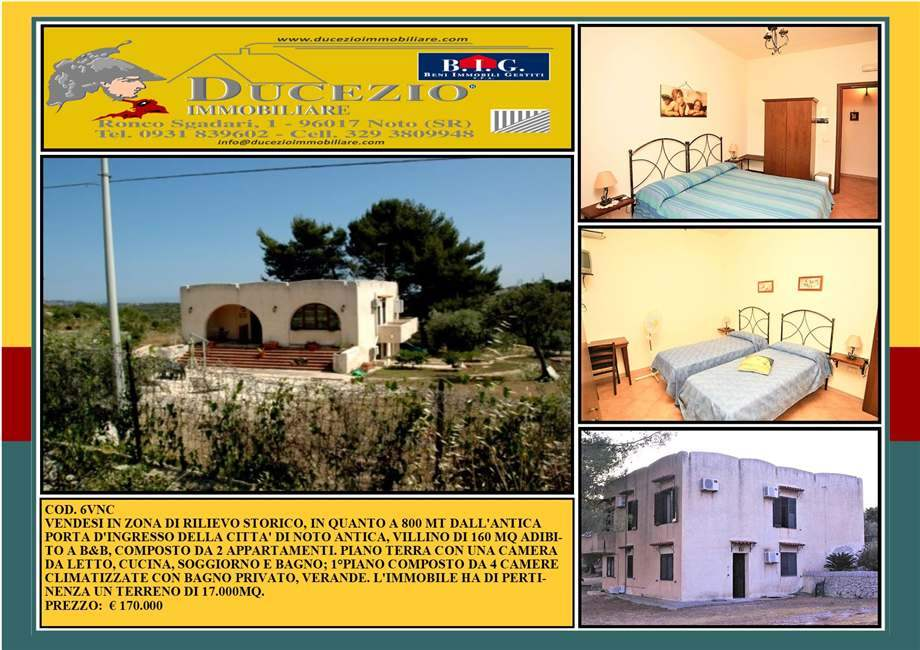 Villa/Casa independiente Noto #6VNC
