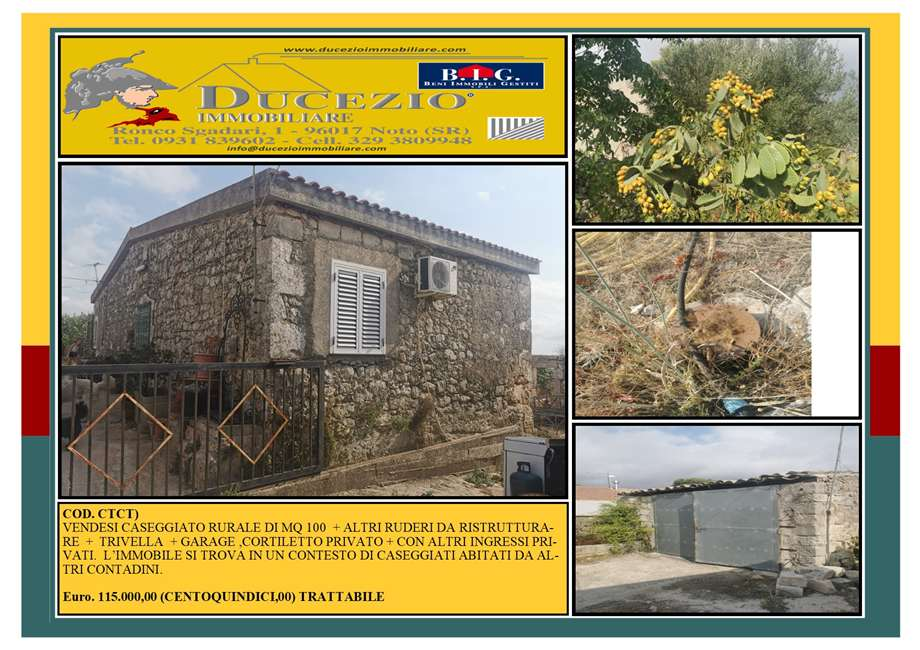 Rural/farmhouse Noto #CTCT