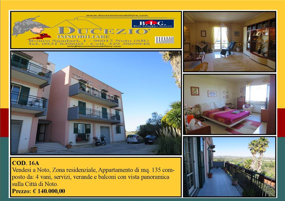 Appartement Noto #16A