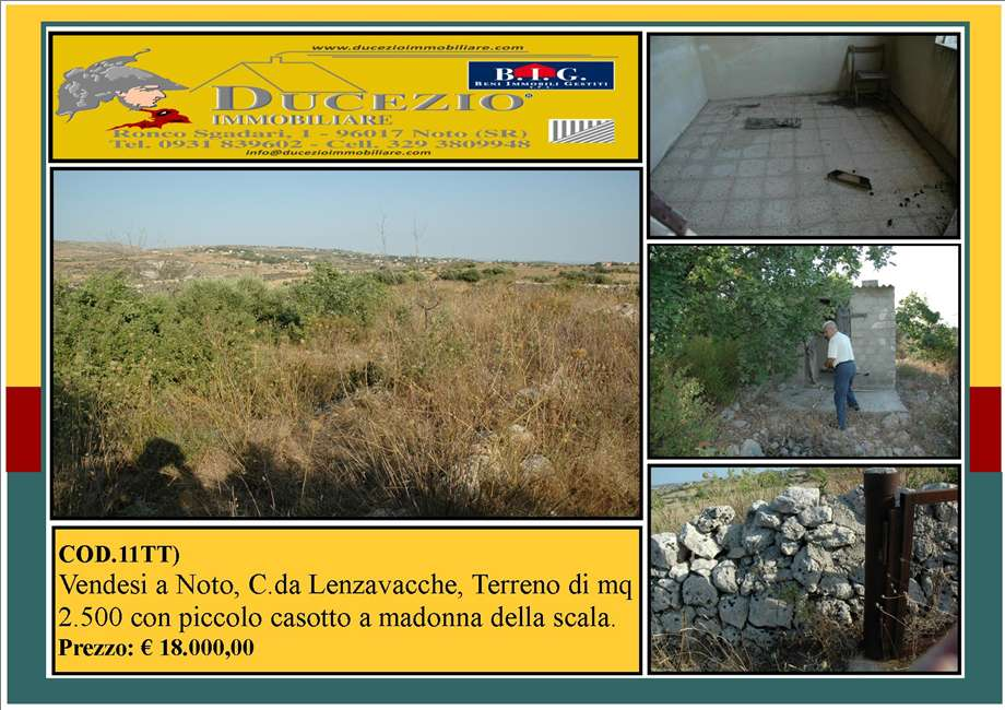 For sale Land Noto  #11TT n.1