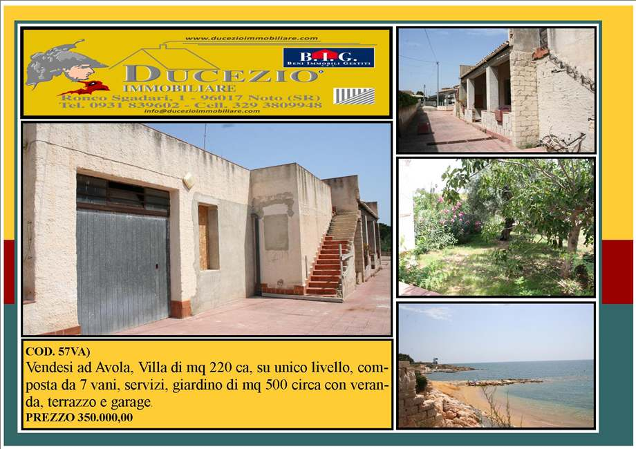 Detached house Avola #57VA