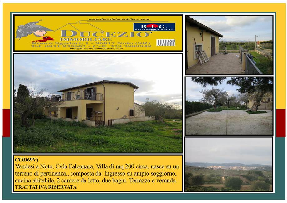 Villa/Casa independiente Noto #69V