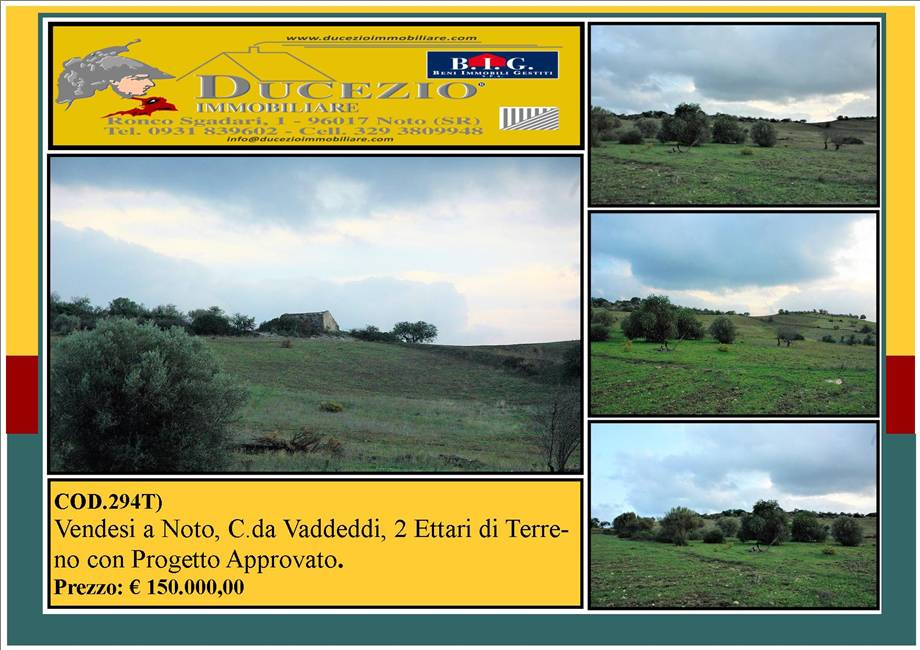 For sale Land Noto  #294T n.1