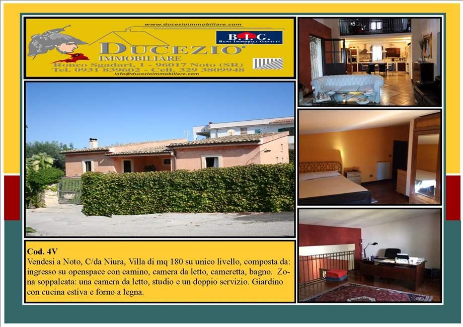 Villa/Casa independiente Noto #4V