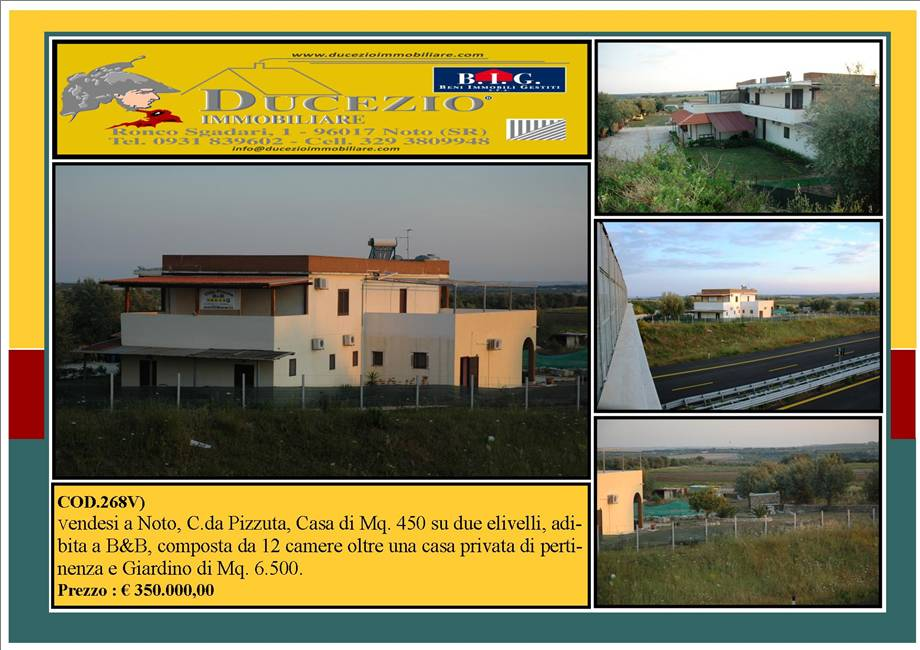 For sale Detached house Noto  #268C n.1