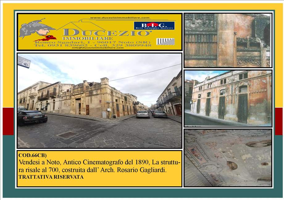 For sale Building Noto  #66CB n.1