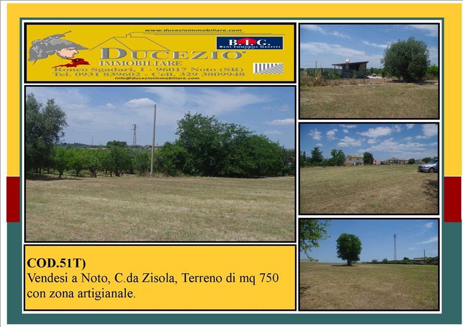 For sale Land Noto  #51T n.1