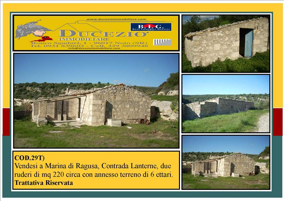 Bauernhaus/Gehöft Ragusa #29T